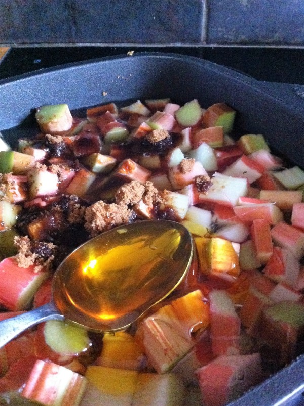 Rhubarb and Ginger