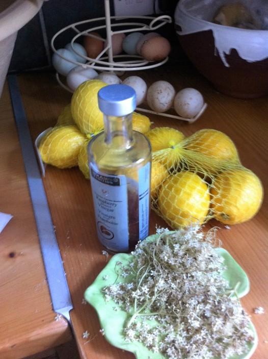 elderflower champagne ingredients