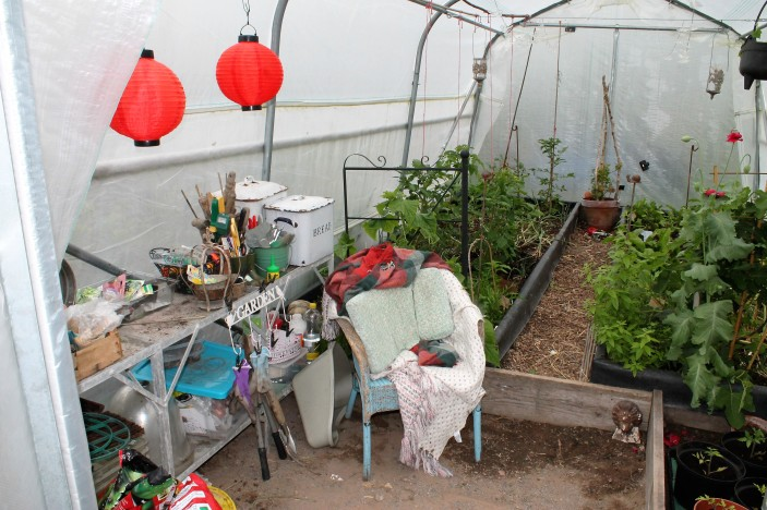 home sweet polytunnel