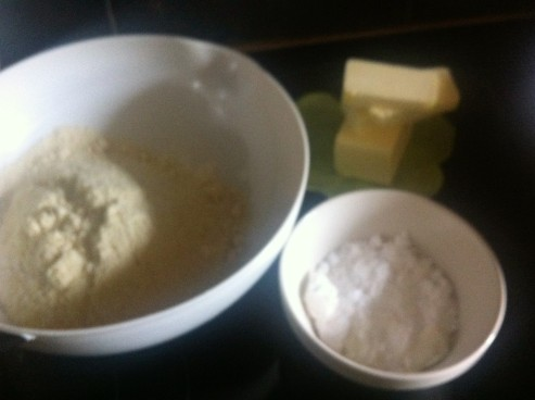 almond shortbread ingredients