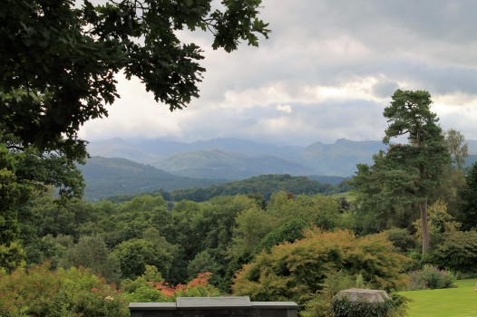 view towards the Langdales