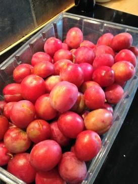 plums
