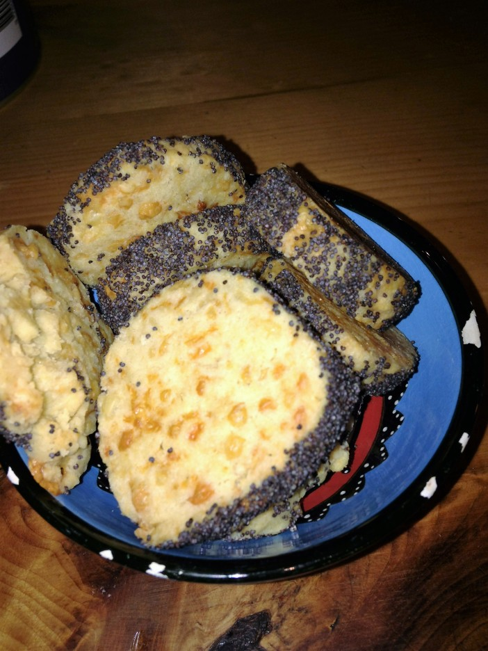 poppy & cheese biscuits