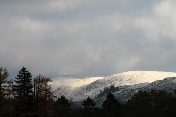 snow on the fells