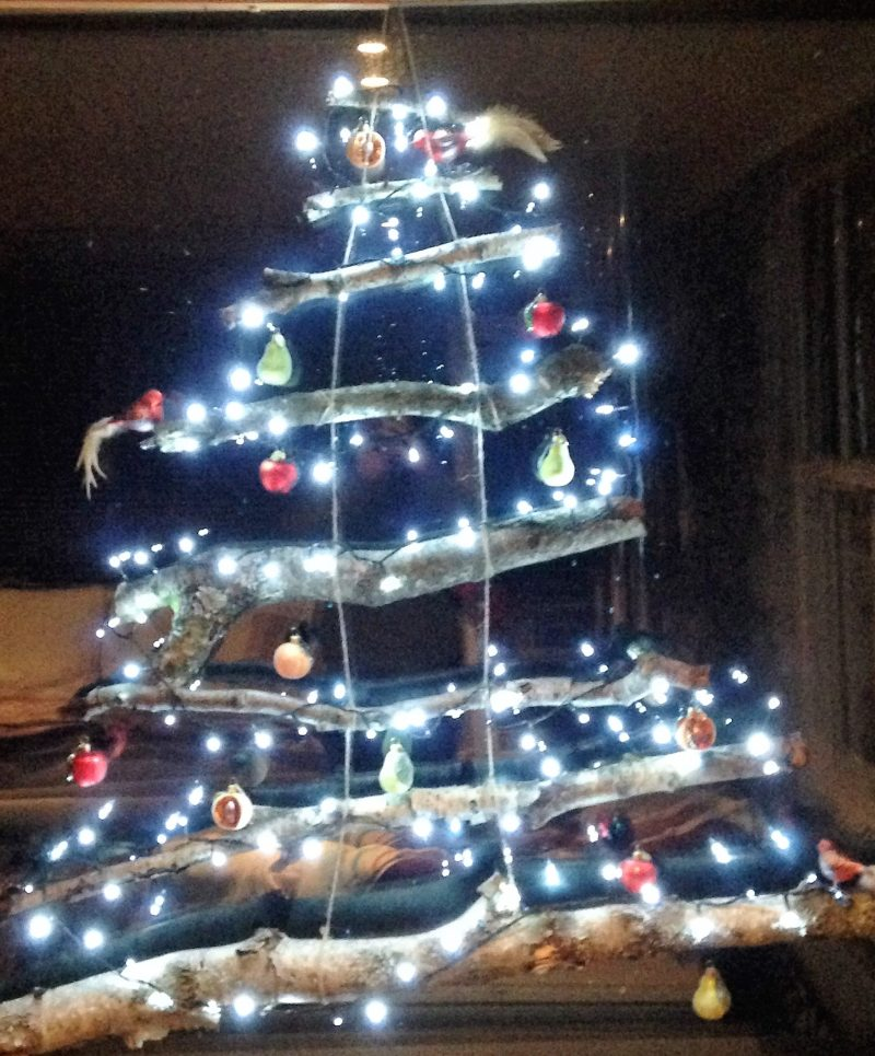 silver birch christmas tree