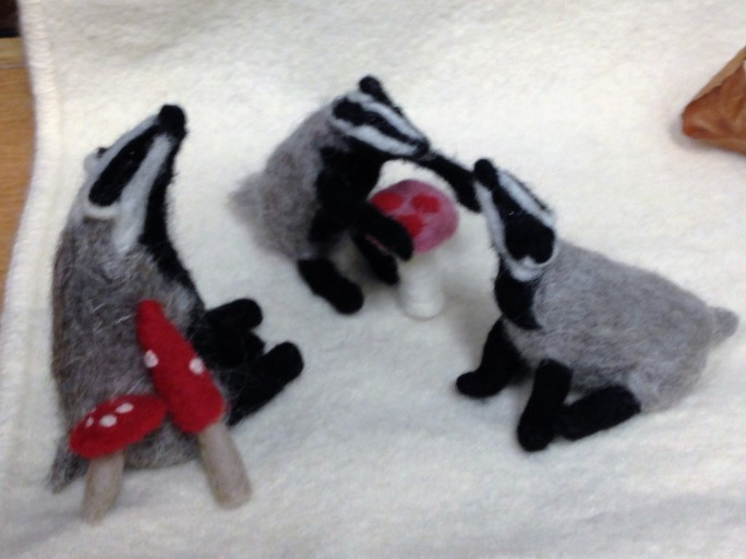 the family of badgers