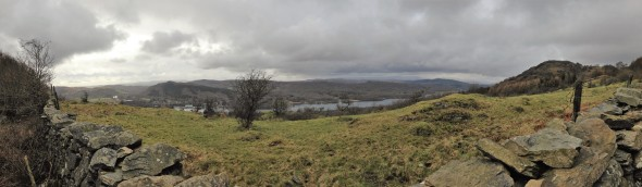 Lake Windermere and Gummers How