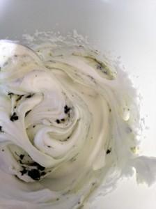 meringue and mint