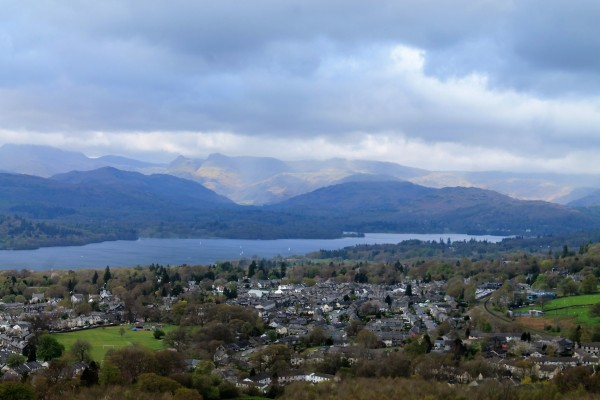 views from school knott walk