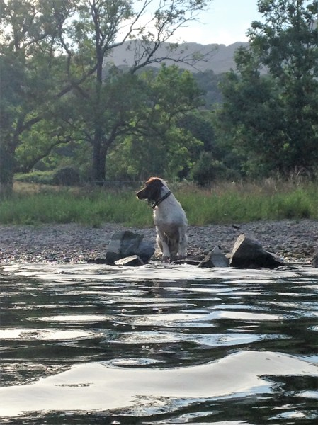 Ellie at Coniston Water