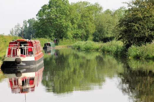 boating on the canal