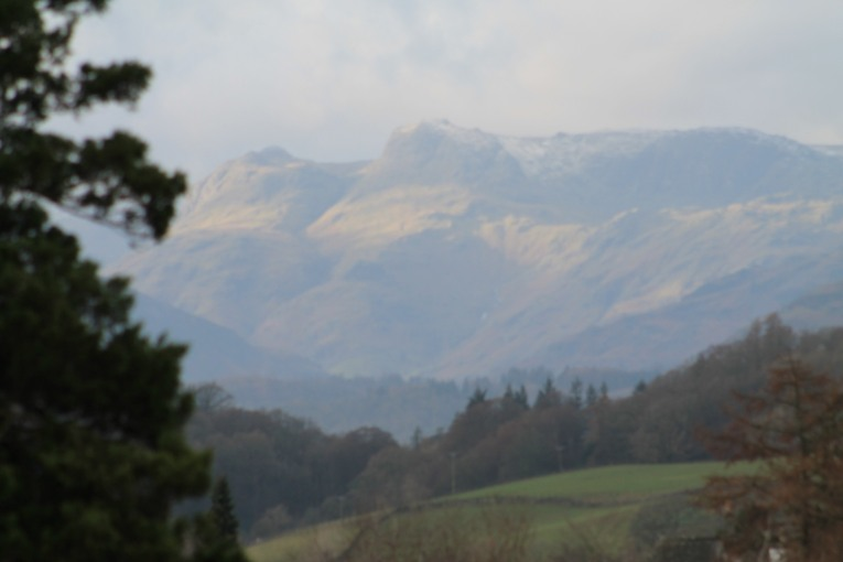 towards the Langdales