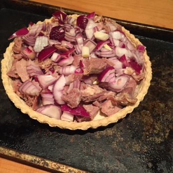 Confit of Duck Tart